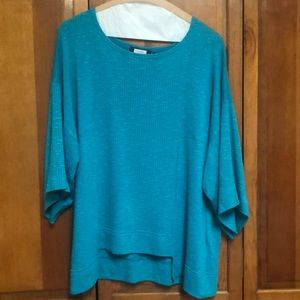 Teal Color lightweight sweater.  Size 8.